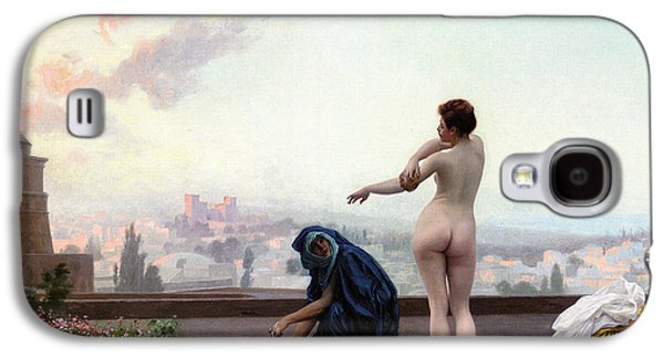 Gerome Galaxy S4 Cases - Bathsheba Galaxy S4 Case by Jean-Leon Gerome