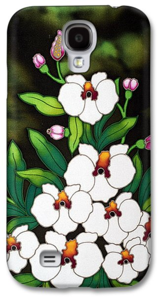 Tree Roots Tapestries - Textiles Galaxy S4 Cases - Batik Galaxy S4 Case by Ali Mohamad
