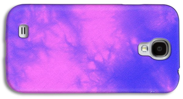 Fantasy Tapestries - Textiles Galaxy S4 Cases - Batik in purple and pink Galaxy S4 Case by Kerstin Ivarsson