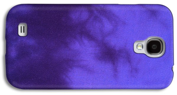 Fantasy Tapestries - Textiles Galaxy S4 Cases - Batik in purple shades Galaxy S4 Case by Kerstin Ivarsson