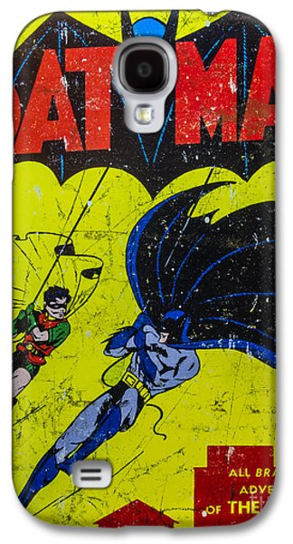 Recently Sold -  - Fantasy Photographs Galaxy S4 Cases - Batman And Robin Galaxy S4 Case by Mitch Shindelbower
