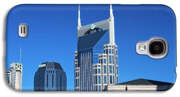 Batman Building And Nashville Skyline Galaxy S4 Case by Dan Sproul