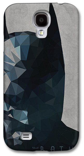 Dark Digital Art Galaxy S4 Cases - Batman Galaxy S4 Case by Daniel Hapi