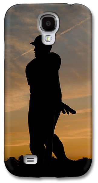Batter At Dawn - Phillies Galaxy S4 Case by Bill Cannon