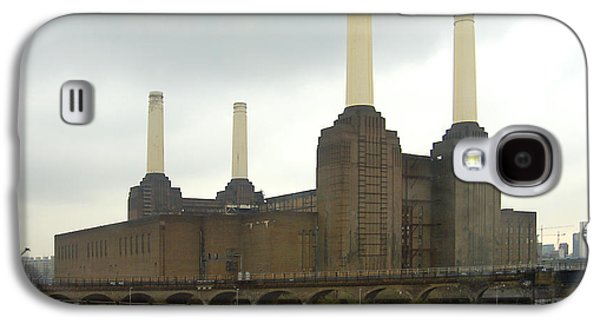 Power Plants Galaxy S4 Cases - Battersea Power Station - London Galaxy S4 Case by Mike McGlothlen
