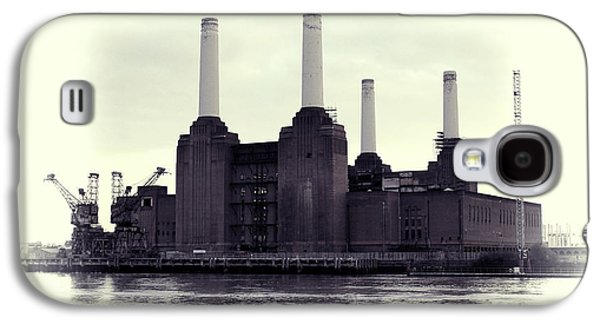 Beatles Photographs Galaxy S4 Cases - Battersea Power Station Vintage Galaxy S4 Case by Jasna Buncic