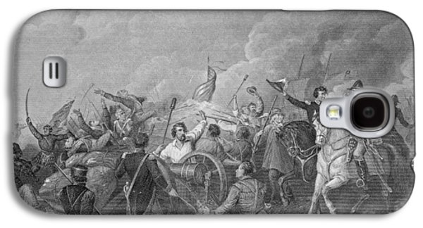 Bayonet Galaxy S4 Cases - Battle Of New Orleans, 8th January 1815, From Gleasons Pictorial, 1854 Engraving B&w Photo Galaxy S4 Case by Thomas Light Merritt