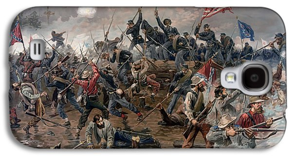 Historical Pictures Galaxy S4 Cases - Battle of Spotsylvania Galaxy S4 Case by Thulstup