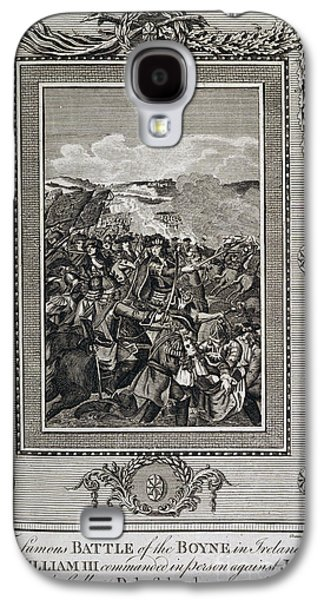 King James Galaxy S4 Cases - Battle Of The Boyne Galaxy S4 Case by British Library