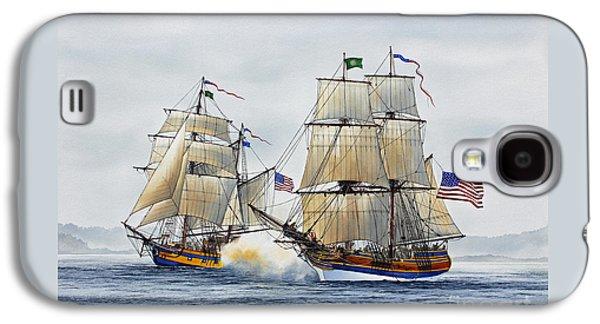 Lady Washington Galaxy S4 Cases - Battle Sail Galaxy S4 Case by James Williamson