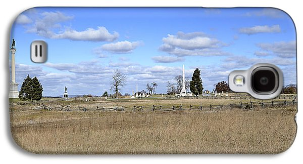 Civil War Site Galaxy S4 Cases - Battlefield at Gettysburg National Military Park Galaxy S4 Case by Brendan Reals