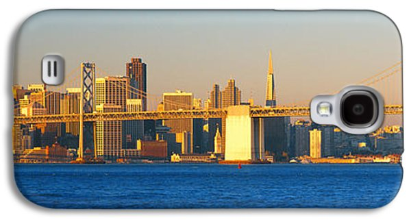 Technological Photographs Galaxy S4 Cases - Bay Bridge & San Francisco From Port Galaxy S4 Case by Panoramic Images