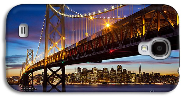 Bay Bridge Galaxy S4 Cases - Bay Bridge Galaxy S4 Case by Inge Johnsson