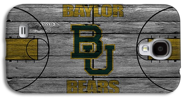 Dunk Galaxy S4 Cases - Baylor Bears Galaxy S4 Case by Joe Hamilton