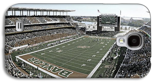 Recently Sold -  - Landmarks Photographs Galaxy S4 Cases - Baylor Gameday No 4 Galaxy S4 Case by Stephen Stookey