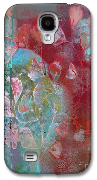 Digital Collage Galaxy S4 Cases - Be-Leaf - j76073176a21cc Galaxy S4 Case by Variance Collections