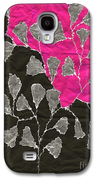 Fushia Galaxy S4 Cases - Be-Leaf - Pink 03-01at4 Galaxy S4 Case by Variance Collections