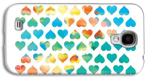 Colored Galaxy S4 Cases - Be Mine Galaxy S4 Case by Budi Satria Kwan