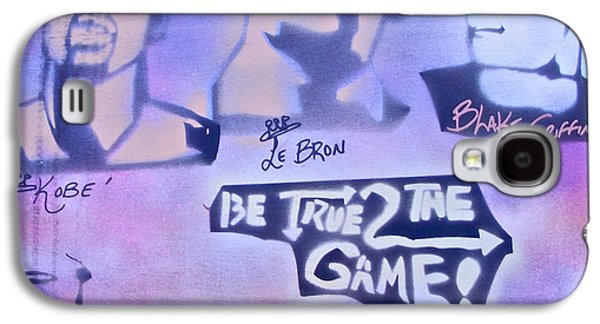 Bryant Paintings Galaxy S4 Cases - Be True 2 the game 1 Galaxy S4 Case by Tony B Conscious