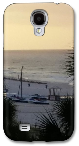 Etc. Paintings Galaxy S4 Cases - Beach #16 Galaxy S4 Case by Earnestine Clay