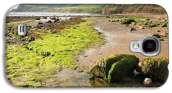 Recently Sold -  - Alga Galaxy S4 Cases - Beach at Robin Hoods Bay Galaxy S4 Case by Deborah Benbrook