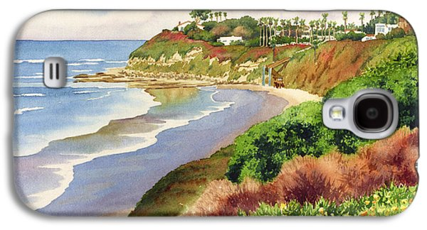 Horizon Galaxy S4 Cases - Beach at Swamis Encinitas Galaxy S4 Case by Mary Helmreich
