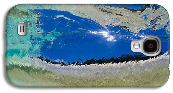 Ocean Art Photography Galaxy S4 Cases - Beach Barrel Galaxy S4 Case by Sean Davey