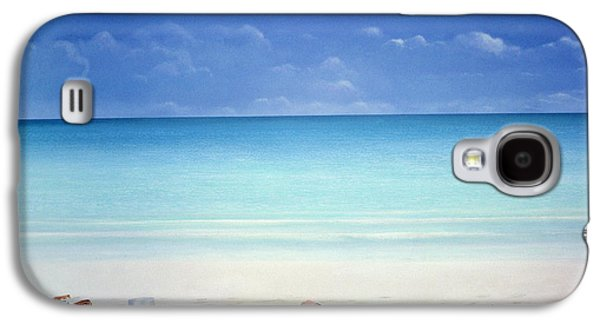 Drink Photographs Galaxy S4 Cases - Beach Broker Galaxy S4 Case by Lincoln Seligman