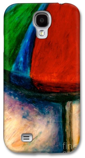 Landscape Acrylic Prints Pastels Galaxy S4 Cases - Beach Day Galaxy S4 Case by Jon Kittleson