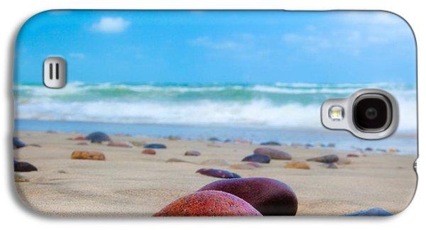 Europa Galaxy S4 Cases - Beach Dreams in Skagen Galaxy S4 Case by Inge Johnsson