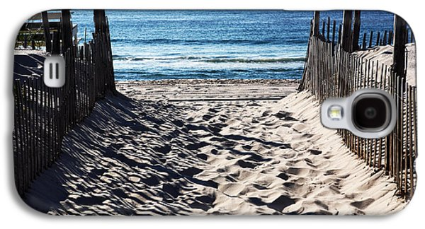 Photo Art Gallery Galaxy S4 Cases - Beach Entry Galaxy S4 Case by John Rizzuto