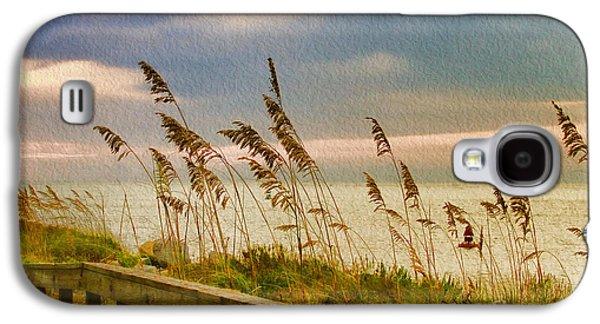 Deborah Benoit Galaxy S4 Cases - Beach Grass Galaxy S4 Case by Deborah Benoit