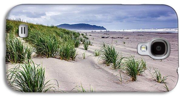 Seacape Galaxy S4 Cases - Beach Grass Galaxy S4 Case by Robert Bales