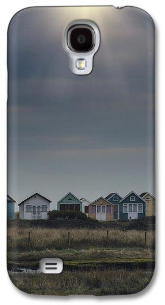 Sun Galaxy S4 Cases - Beach Huts Galaxy S4 Case by Joana Kruse