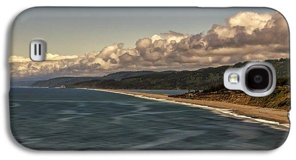 Agate Beach Oregon Galaxy S4 Cases - Agate Beach Galaxy S4 Case by Maria Coulson