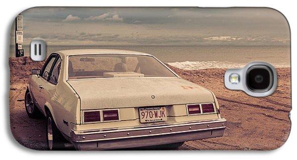 Hamptons Galaxy S4 Cases - Beach Memories Salisbury Beach MA Galaxy S4 Case by Edward Fielding