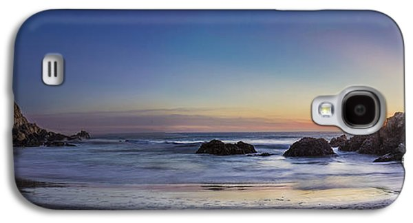 Big Sur Beach Galaxy S4 Cases - Beach Oasis Galaxy S4 Case by Jeremy Jensen