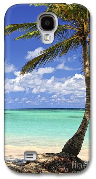 Beach Of A Tropical Island Galaxy S4 Case by Elena Elisseeva