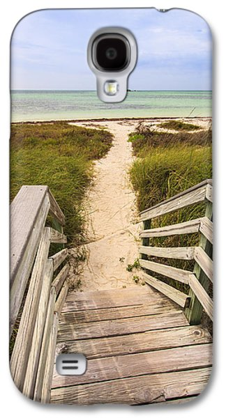 Landscapes Photographs Galaxy S4 Cases - Beach Path Galaxy S4 Case by Adam Romanowicz