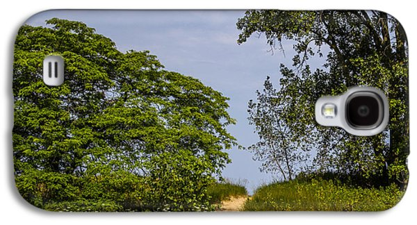 Base Path Galaxy S4 Cases - Beach Path Galaxy S4 Case by Angus Hooper Iii