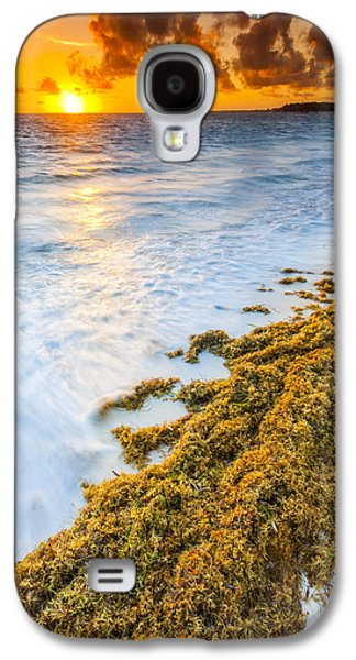 Coast Galaxy S4 Cases - Beach Sunrise Galaxy S4 Case by Sebastian Musial