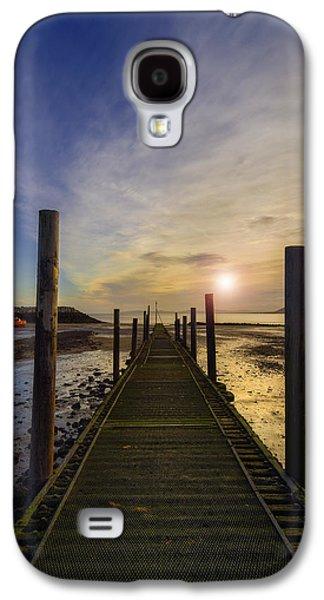 Seacape Galaxy S4 Cases - Beach Sunrise v2 Galaxy S4 Case by Ian Mitchell