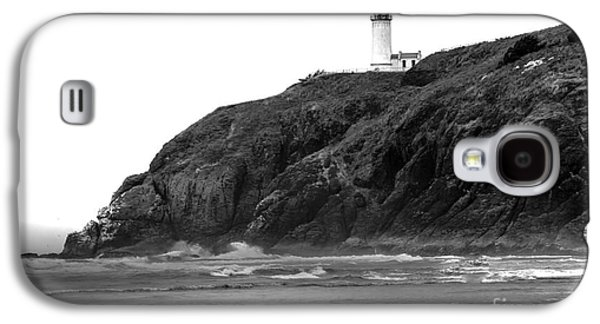 Best Sellers -  - Haybale Galaxy S4 Cases - Beach View of North Head Lighthouse Galaxy S4 Case by Robert Bales