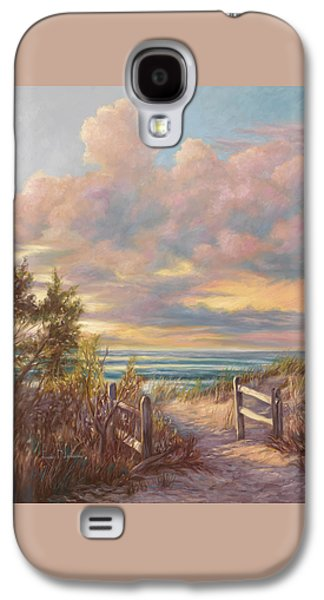 Beach Walk Galaxy S4 Case by Lucie Bilodeau
