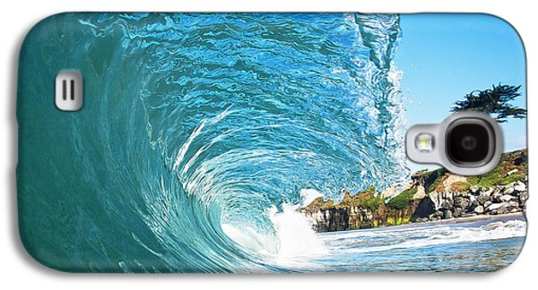 Beach Wave Galaxy S4 Case by Paul Topp