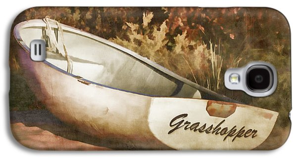 Martha Galaxy S4 Cases - Beached Rowboat Galaxy S4 Case by Carol Leigh