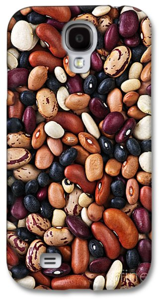 Dried Photographs Galaxy S4 Cases - Beans Galaxy S4 Case by Elena Elisseeva