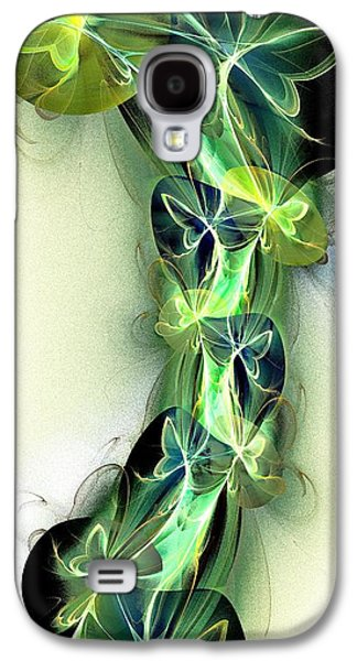 Abstracts Galaxy S4 Cases - Beanstalk Galaxy S4 Case by Anastasiya Malakhova