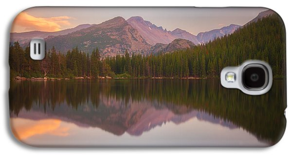 Sunset Greeting Cards Galaxy S4 Cases - Bear Lake Sunset Reflections Galaxy S4 Case by Darren  White