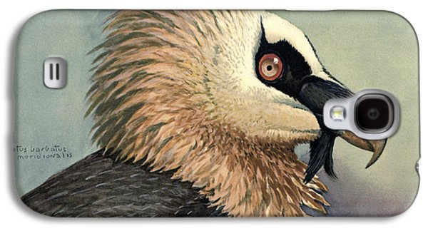 1874 Galaxy S4 Cases - Bearded Vulture Galaxy S4 Case by Louis Agassiz Fuertes